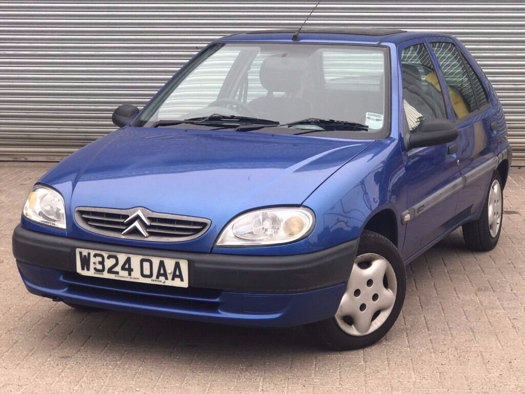 2000 citroen saxo desire 1 1 engine 5 doors great history long mot in poole dorset. Black Bedroom Furniture Sets. Home Design Ideas