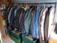 Vintage clothing collection.