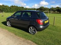 Skoda Fabia 3 tdi 80bhp. £30 tax. Low mileage.