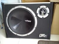 Vibe subwoofer. 1600 watts. Built in amp. £80