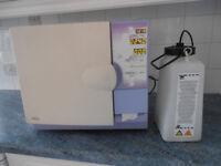 Autoclave Prestige Medical Vacuum spares or repair. Has printer