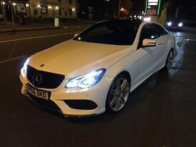 Mercedes E350d Coupe AMG Line Edition Premium
