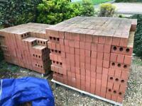 1000 Ibstock bricks nostell priory red 73mm imperial all new