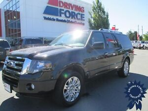 2014 Ford Expedition Max Limited, 4x4, Power Sunroof, 56,361 KMs