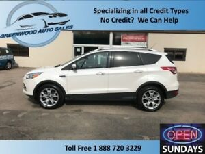 2015 Ford Escape Titanium! PANO ROOF! NAVI! FINANCE NOW!