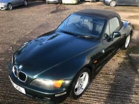 BMW Z3 1.9 2000 Model Convertible E36 M43 Oxford Green 2 Seater MX5 Z4 Sport Low Miles 73k Widebody