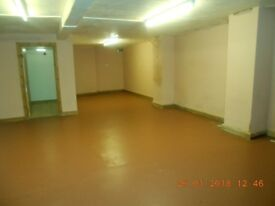 Large room just outside Bradford City Centre BD8. Suitable for use as a gym, dance studio, etc.
