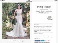 Maggie Soterro ( Mercedes) wedding dress for sale