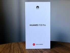 BRAND NEW BOXED UNOPENED — Huawei P20 Pro - 128GB, 6GB RAM Twilight