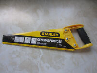 """stanley general purpose 15"""" saw - NEW"""