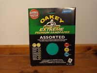 Oakey Liberty Green Extreme assorted Sandpaper Sheets