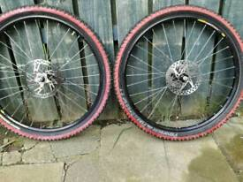 Mavic hope mountain bike disc wheels