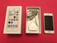 iPhone 5s 16gb Gold as new