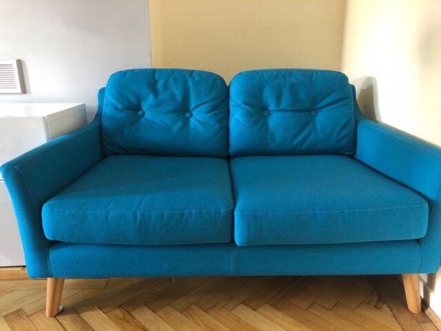 Miraculous Made Rufus Small Teal Sofa In Cyncoed Cardiff Gumtree Theyellowbook Wood Chair Design Ideas Theyellowbookinfo