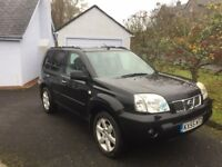 good condition x trail with full leather, sat nav, tow bar, sun roof and Thule roof bars