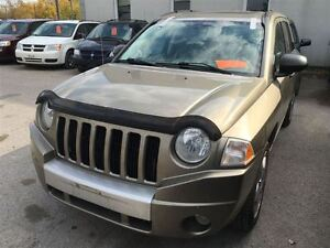 2007 Jeep Compass Limited CALL 519 485 6050 CERT AND E TESTED