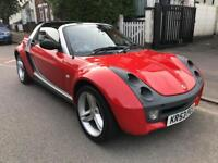 2004 SMART ROADSTER 80 AUTO AUTOMATIC. 700cc PETROL TURBO. 2 LADY OWNERS. SERVICE HISTORY.
