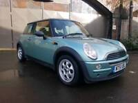 MINI ONE 1.6 TURQUOISE 12 MONTHS MOT