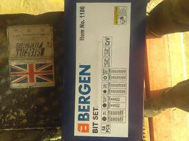 Bergen 58PC Hex & Torx Bit Set