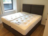 Strathmore 180cm x 200cm Zip & Link Super King Ottoman Luxury End Lift Divan Beds