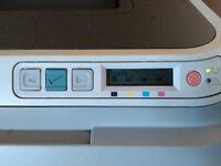 HP Color Laserjet 2600n For Parts Black Toner Full