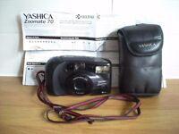 KYOCERA YASHICA ZOOMATE 70 CAMERA c/w CASE & INSTRUCTION MANUAL