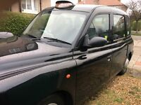 black cab taxi driver required for exclusive rental