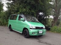 HI SPEC MAZDA BONGO 2.5 TD DAY SURF MPV BUS/ DAY CAMPER/REAR KITCHEN/MAINS HOOK UP/SERVICE HISTORY