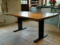 Industrial Style Dining Table Bespoke 5ft - 12ft