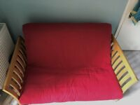 Futon Company Two-Seater Pull-Out Sofa Bed - Great Condition