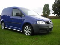 VW CADDY VAN 57 REG, 2.0 SDI, TOP SPEC, MAY P/EX