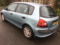 Honda Civic 1.6 inspire s 2003 5 door met blue long mot low insurance