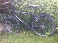 "Hawk Scenic Gents bike bicycle 22"" frame 700C wheels 7 gears"