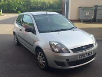 Ford Fiesta Style Climate 1.25 07 plate, 3 door, MOT July 2017, full service history,