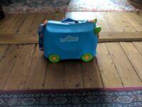 Trunki in Blue kids travel case