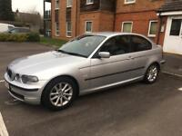BMW 316 silver 2004 plate