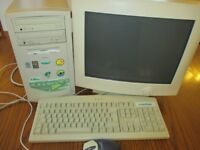 eMachines Desktop PC / Monitor/ keyboard / mouse / speakers **USED**