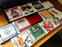 Nintendo 3DS XL 10 games 3 3DS with accessories