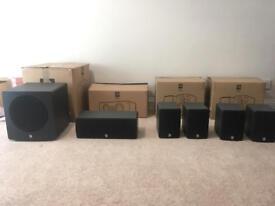 Q Acoustics 1001i 5.1 Speaker System