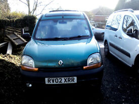 Renault Kangoo, Automatic, one owner from new 55555 miles