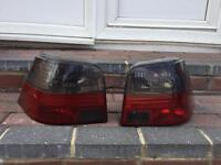 VW GOLF MK4 - SMOKED REAR LIGHTS