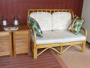 CANE TWO SEATER &  2 X SINGLE MATCHING CHAIRS Thornleigh Hornsby Area Preview