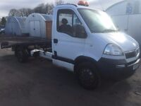 2004 04 VAUXHALL MOVANO 3.5T RECOVERY TRUCK DELIVERY ANY WHERE IN UK