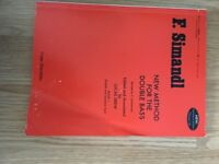 F. Simandl New Method for the double bass - only used a few times RRP £25
