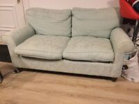 2seat sofa by Laura Ashley duck egg blue
