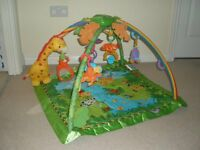 Fisher Price Rainforest Gym and Play mat