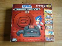 Sega Mega Drive 2 Boxed Mega Games 6 Console in Good Condition