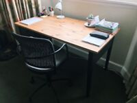 IKEA Office Desk (with drawers) & Chair - Great Condition