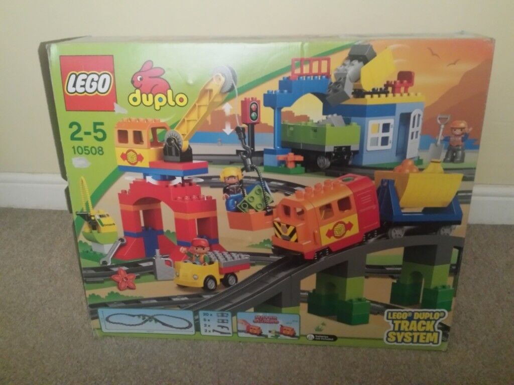 Lego Duplo Train Set 10508 Track Extension Set 10506 Used