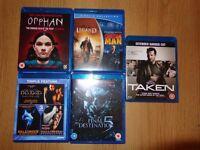 Blu-Ray Movies Bundle, bargain!